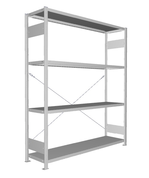 META Legbordstelling Basissectie - 200 x 170 x 40 cm (hxbxd)