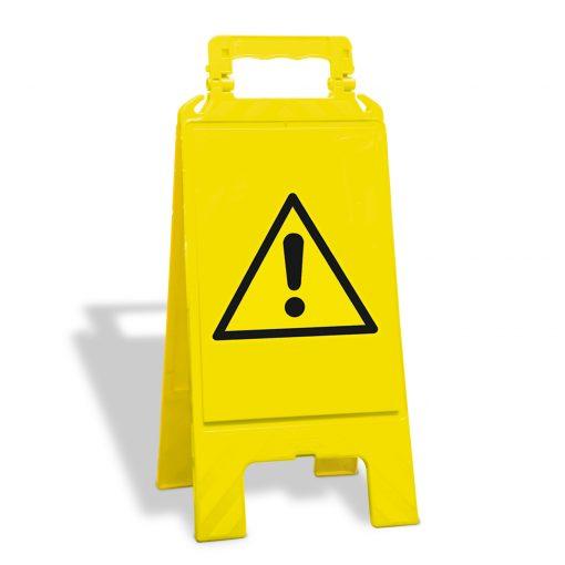 Waarschuwingsbord geel