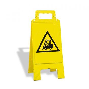 waarschuwingsbord heftruck