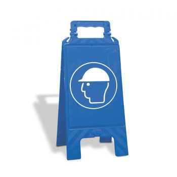 waarschuwingsbord helm