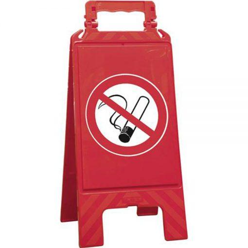 verboden te roken bord