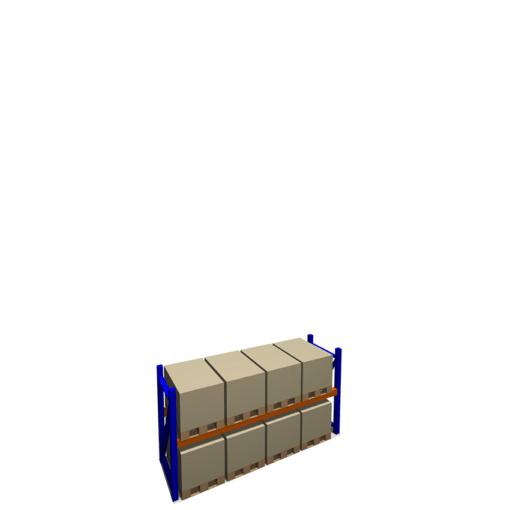 Palletstelling 2000 x 3600 x 1100 mm