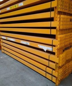 Dexion Speedlock Palletstelling Liggers 3600 x 120 mm geel