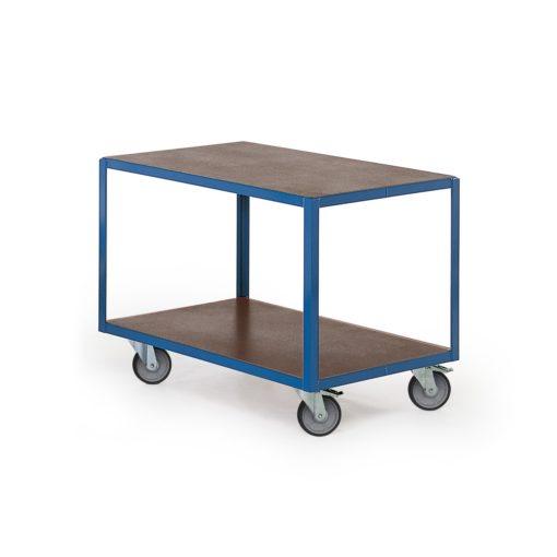 Transportwagen met 2 laadvlakken 1000 x 700 mm
