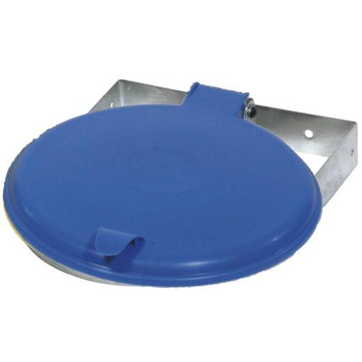 Afvalzak-wandklem 70-120 liter blauw deksel