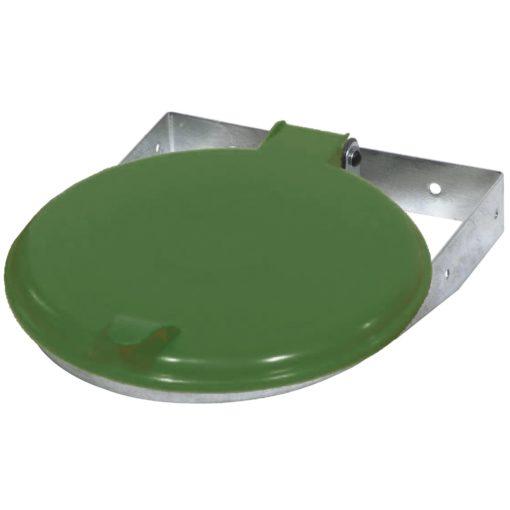 Afvalzak-wandklem 70-120 liter groen deksel