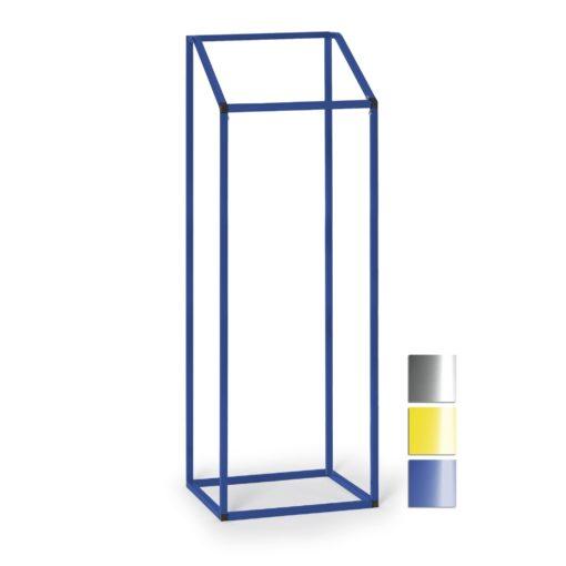 Grootvolume afvalverzamelaar - 630 × 540 × 1835 mm