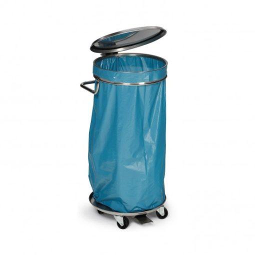Mobiele afvalverzamelaar voor 120 liter zakken
