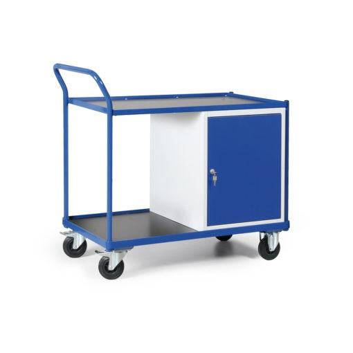 Werkplaatswagen met kastblok 250 KG draagvermogen - 1200 x 600 x 1030 mm (lxbxh)