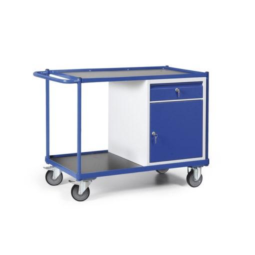 Werkplaatswagen met kastblok met schuiflade 250 KG draagvermogen