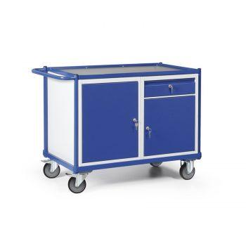 Werkplaatswagen met kastblokken en schuiflade 250 KG draagvermogen