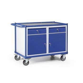 Werkplaatswagen met kastblokken en schuifladen 250 KG draagvermogen