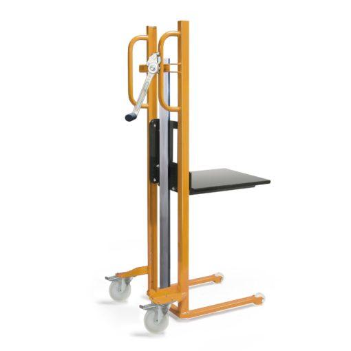 Materiaalheffer met platform - polyamide wielen - 250 kg