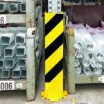 Aanrijbeveiliging U-Profiel 120 x 16 x 0,6 cm (hxbxd)