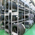 META bandenstelling 15 meter compleet 2500 x 15000 x 400 (hxbxd)
