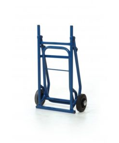 Inklapbare steekwagen kunststof wielen - 100 kg