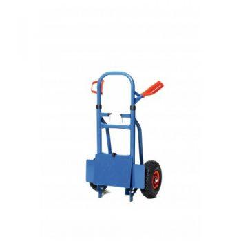 Inklapbare steekwagen luchtband wielen - 175 kg