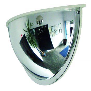 PANORAMA-180 Drie-Wegen-Spiegel met Kader - 600 x 300 x 165 mm