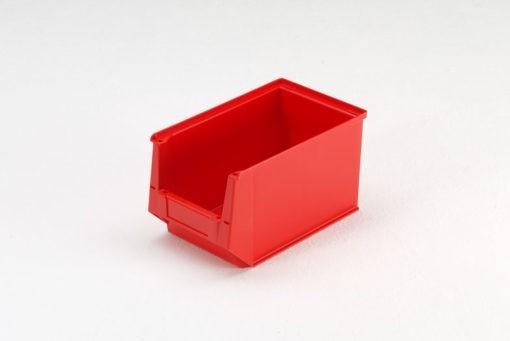 Magazijnbak 350 x 210 x 200 mm (lxbxh) rood