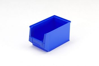 Magazijnbak 350 x 210 x 200 mm (lxbxh) blauw
