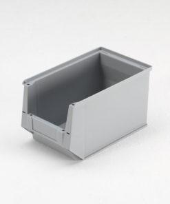 Magazijnbak 350 x 210 x 200 mm (lxbxh) grijs
