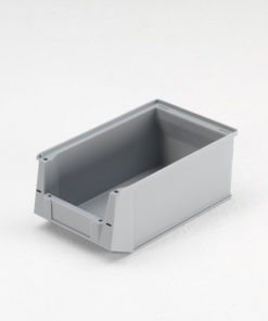 Magazijnbak 350 x 210 x 145 mm (lxbxh) grijs