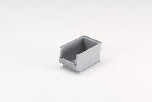 Magazijnbak 230 x 147 x 132 mm grijs