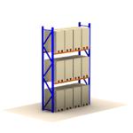 Palletstelling 400 x 360 x 110 cm (hxbxd) 2 niveaus – 3000 kg