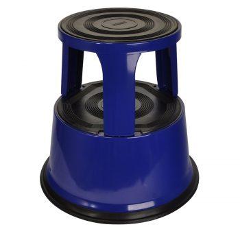 Opstapkruk Olifantenpoot Aluminium blauw