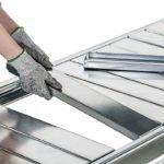 META Minirack Grootvakstelling Legbord Staalpaneel 2200 x 650 mm