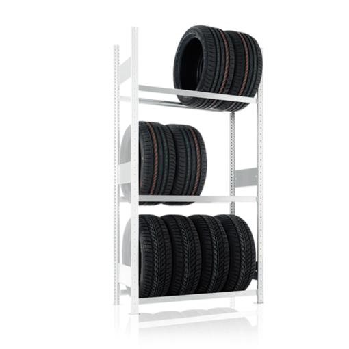 META Autobandenstelling Aanbouwsectie 2500 x 1000 x 400 mm (hxbxd)