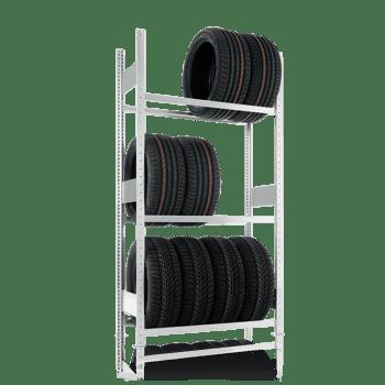 META Autobandenstelling Basissectie 2000 x 1300 x 400 mm (hxbxd)
