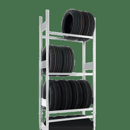 META Autobandenstelling Basissectie 2500 x 1000 x 400 mm (hxbxd)