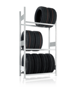 META Autobandenstelling Basissectie 2500 x 1300 x 400 mm (hxbxd)