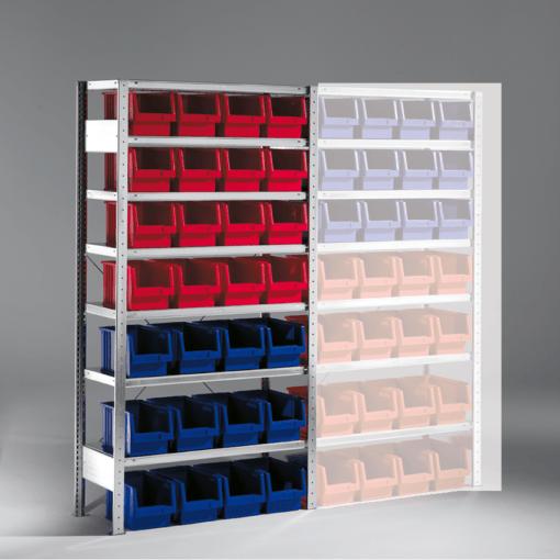 Meta Bakkenstelling Basissectie 2000 x 1000 x 400 mm (hxbxd) inclusief 7 legborden