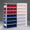 Meta Bakkenstelling Basissectie 2000 x 1000 x 500 mm (hxbxd) inclusief 7 legborden