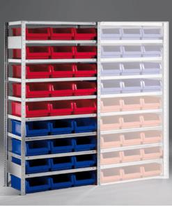Meta Bakkenstelling Basissectie 2000 x 1000 x 500 mm (hxbxd) inclusief 9 legborden