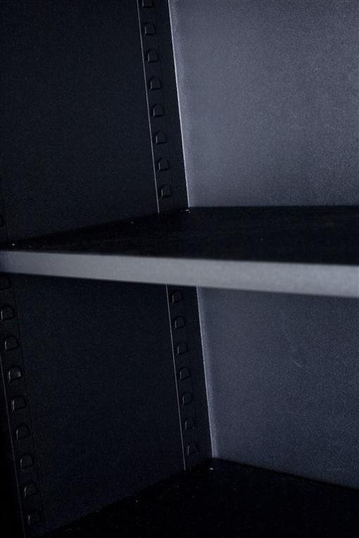 Draaideurkast large - zwart