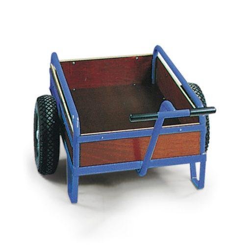 Handwagen houten wand - 1670 x 970 mm