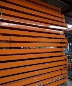 Dexion Speedlock Palletstelling Liggers 3600 x 140 mm oranje