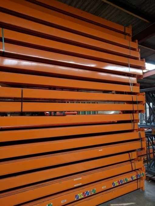 Dexion Speedlock Palletstelling Liggers 3600 x 140 mm oranje