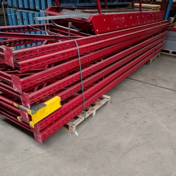Overtoom Staanders 5200 x 1050 mm (hxd) rood