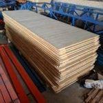 gebruikte vlonders palletstelling 3580 x 1100 mm