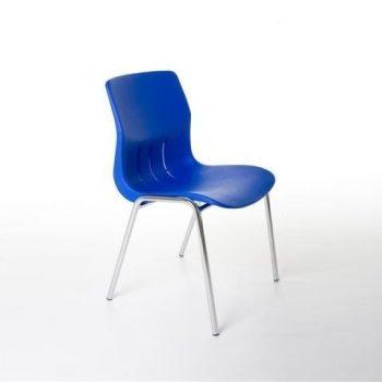 Kantinestoel Flex blauw