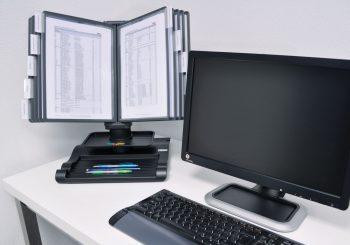 Bureaudisplay 360 graden draaibaar