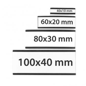 Magnetische etikethouders