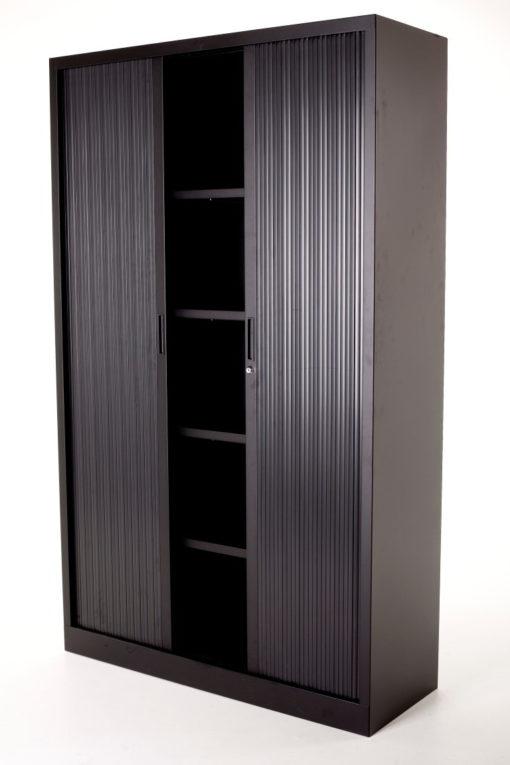 Roldeurkast Large – Zwart