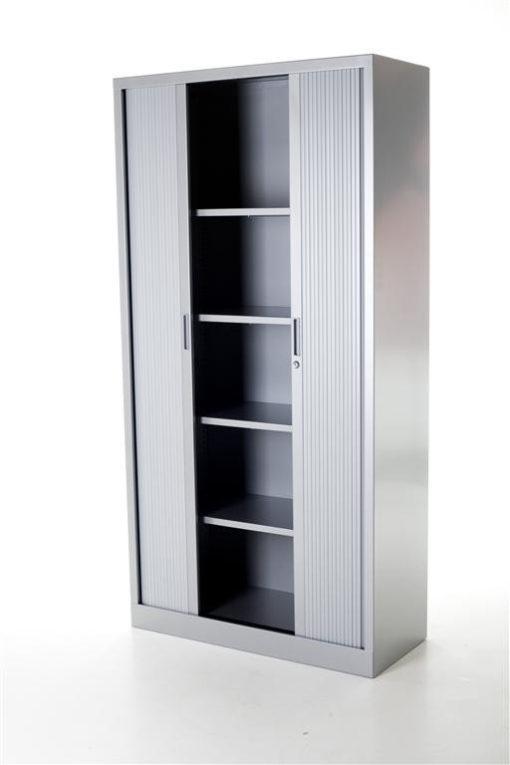 Roldeurkast Medium – Aluminium