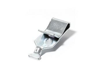 Meta clip zilver