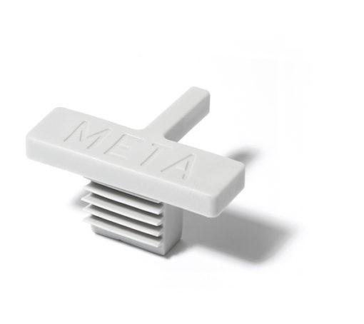 Meta afdekdop - enkel